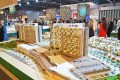 Parklane, Dubai, developer's masterplan model
