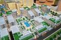 Royal Pearls, Dubai, developer's masterplan model