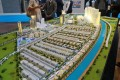 Sobha Hartland, Dubai, developer's masterplan model