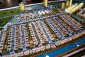 Sobha Hartland, Dubai, developer's 3D masterplan model