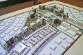 The Pulse, Dubai, developer's masterplan model