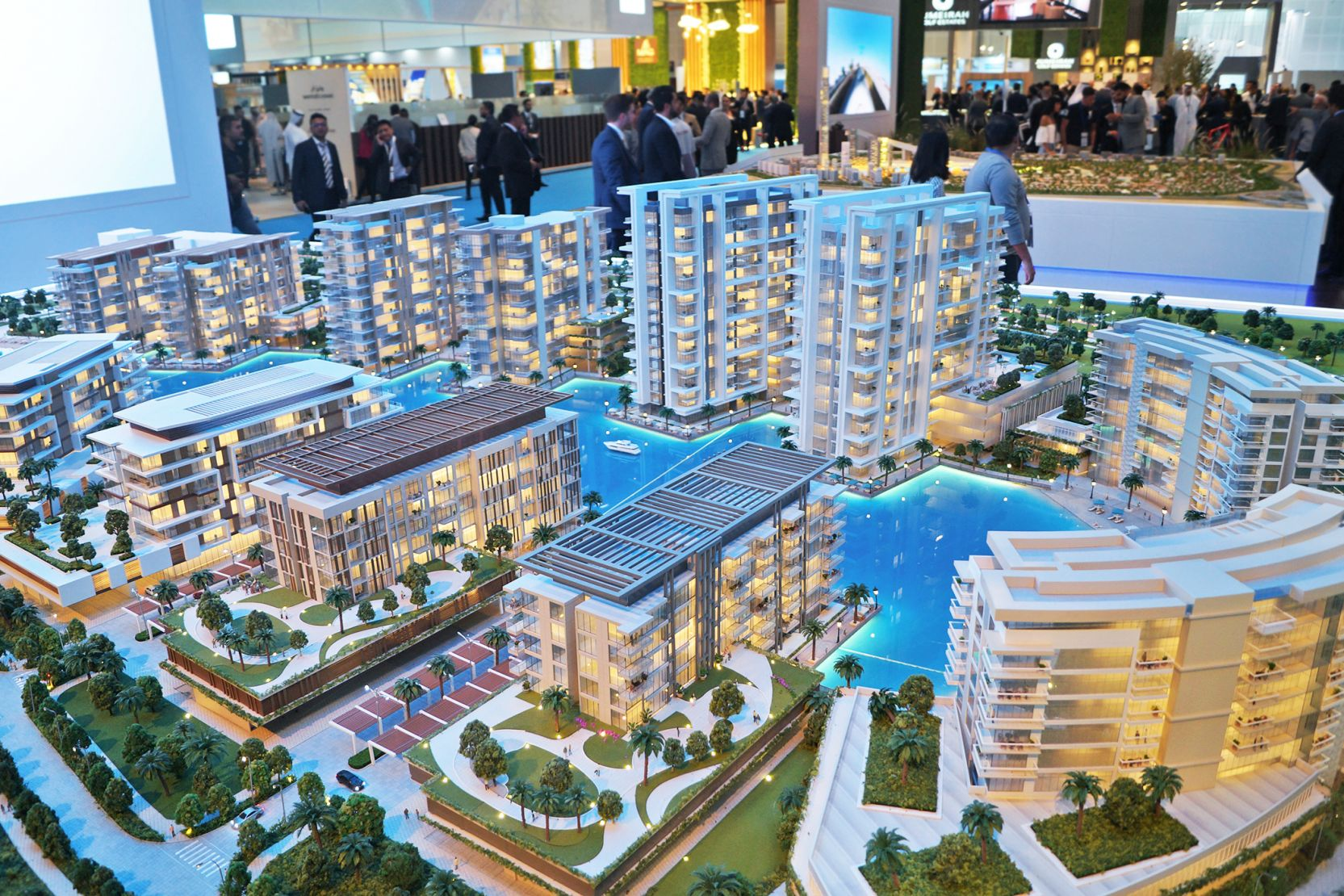 The Residences at District One, Dubai, developer's model