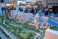 The Residences at District One, Dubai, developer's masterplan model