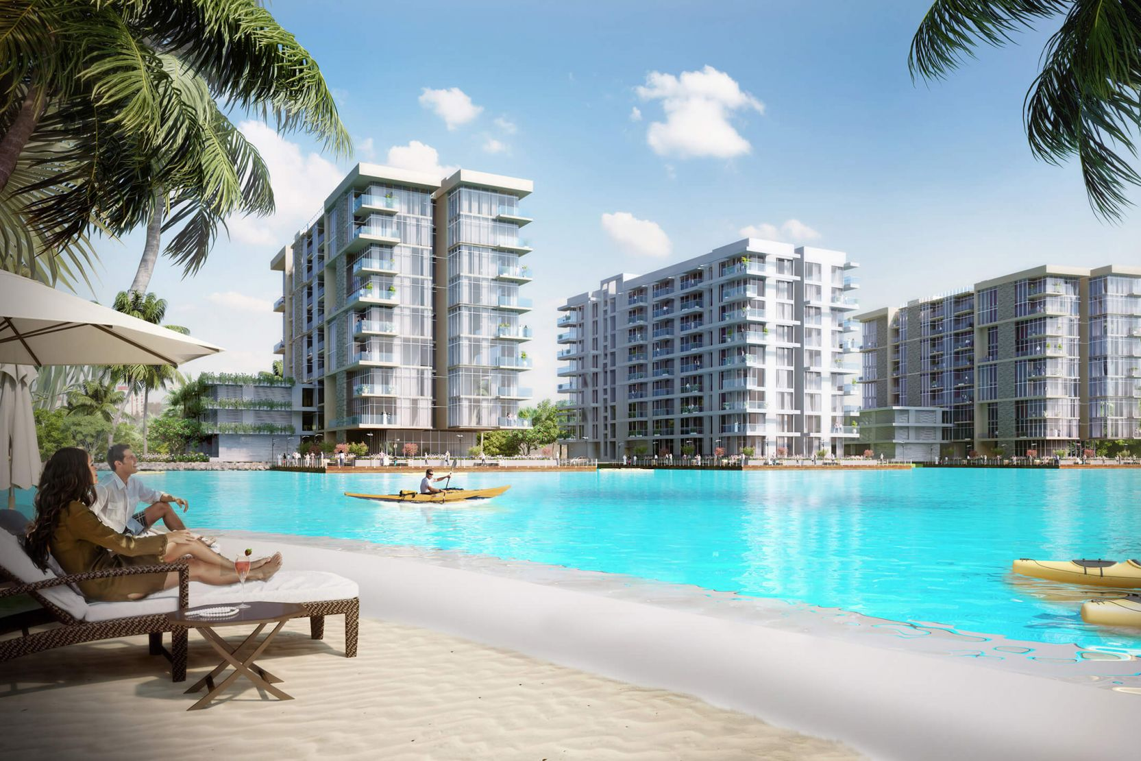 The Residences at District One, Dubai, artist's impression