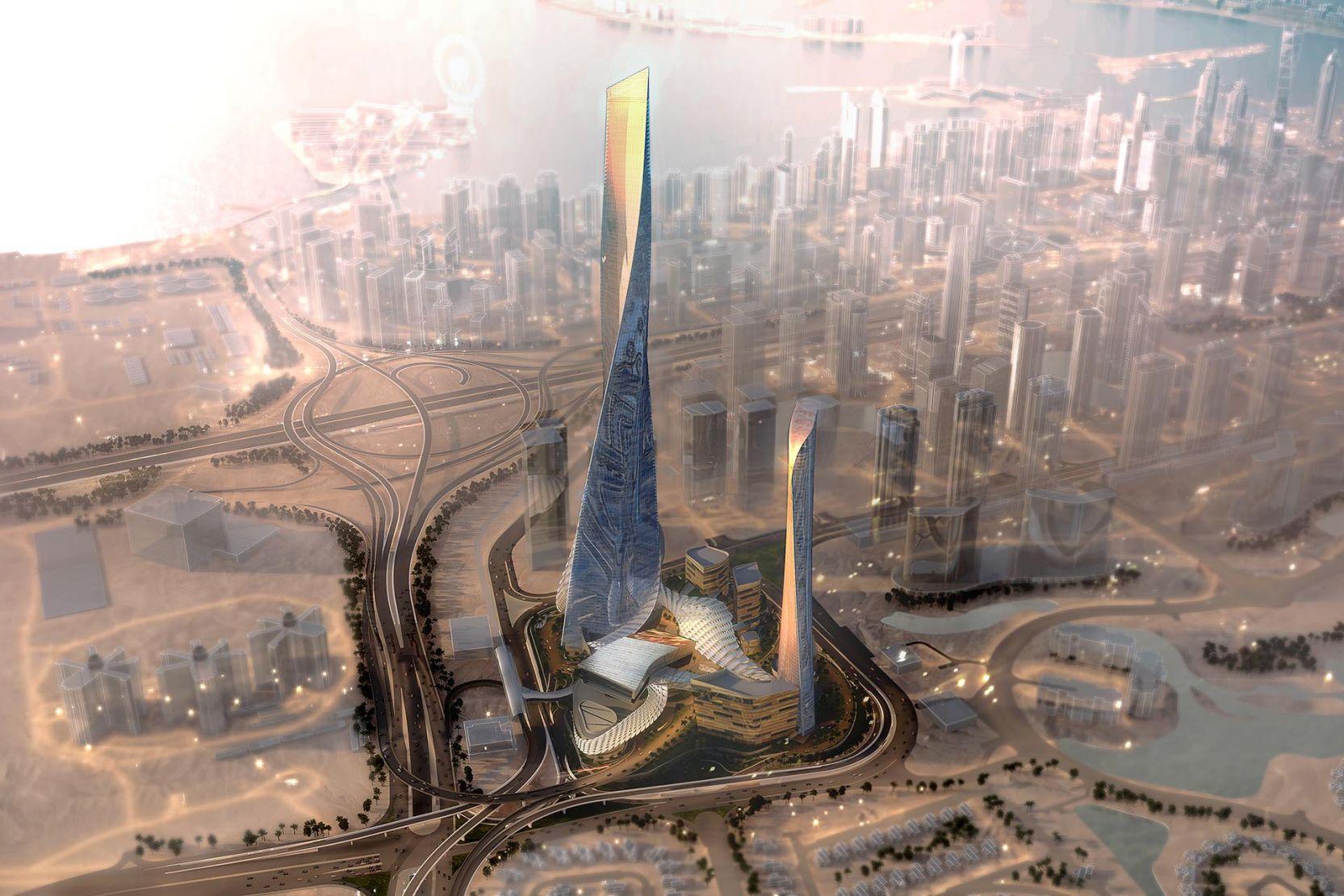 Uptown Dubai, concept design