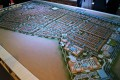 Villanova, Dubai, developer's masterplan model