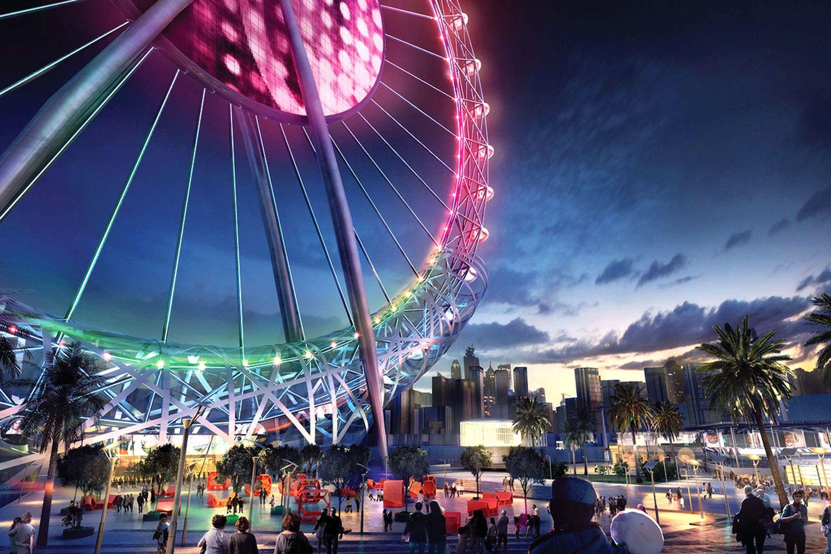 Dubai Eye Ferris Wheel, Dubai
