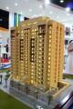Al Jaddaf Plaza, developer's model, Dubai
