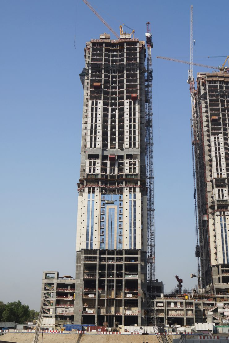 Amna Tower, Dubai, construction update July 2016