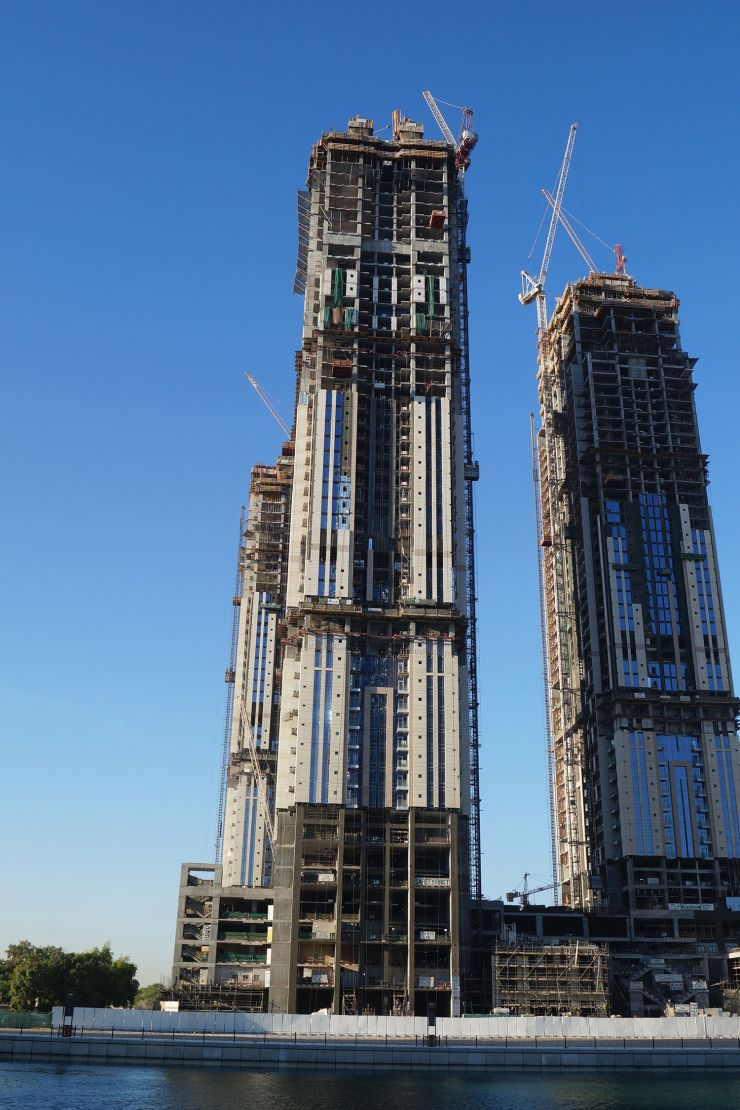 Amna Tower, Dubai, construction update November 2016