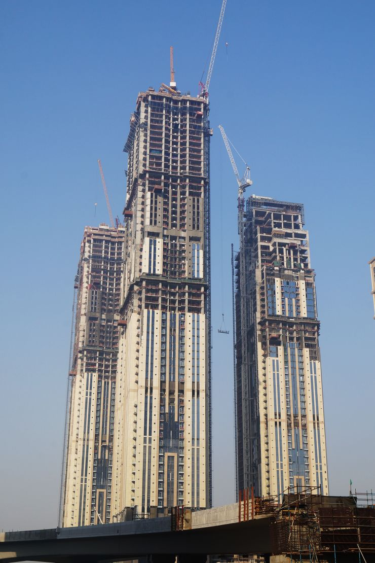 Amna Tower, Dubai, construction update May 2017