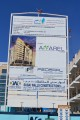 Apparel Group Building, Dubai, construction site signboard