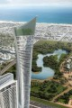 Aykon City East Towers, artist's impression, Dubai