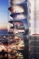 Aykon City West Towers, artist's impression, Dubai