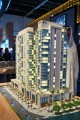 Bellevue Towers, Dubai, developer's model