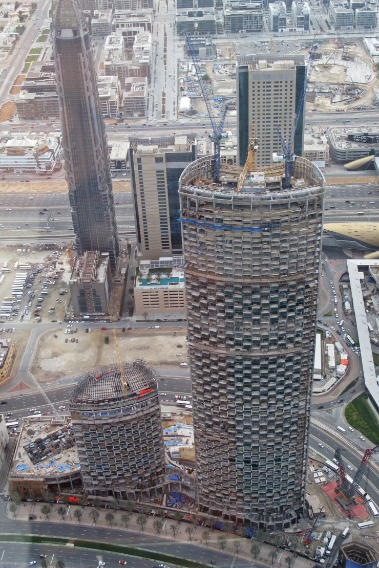 Burj Vista, Dubai, construction update March 2017