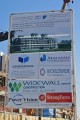 Cadi 4, construction signboard, Dubai