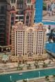 Canal Residence Venetian Building, developer's model, Dubai
