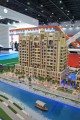 Canal Residence West Arabian Tower, Dubai, developer's model