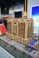Canal Residence West Spanish Tower, Dubai, developer's model