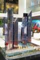 Central Park Towers, developer's model, Dubai