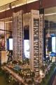 Downtown Views II, Dubai, developer's model