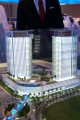 Dragon City Towers, developer's model, Dubai