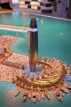 Dubai Harbour Lighthouse, developer's model, Dubai
