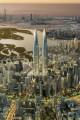 Dubai Twin Towers, artist's impression, Dubai