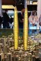 Dubai Twin Towers, developer's model, Dubai