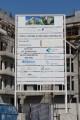 Edmonton Elm, Dubai, construction site signboard