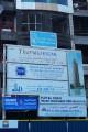 Escan Marina, construction site signboard, Dubai