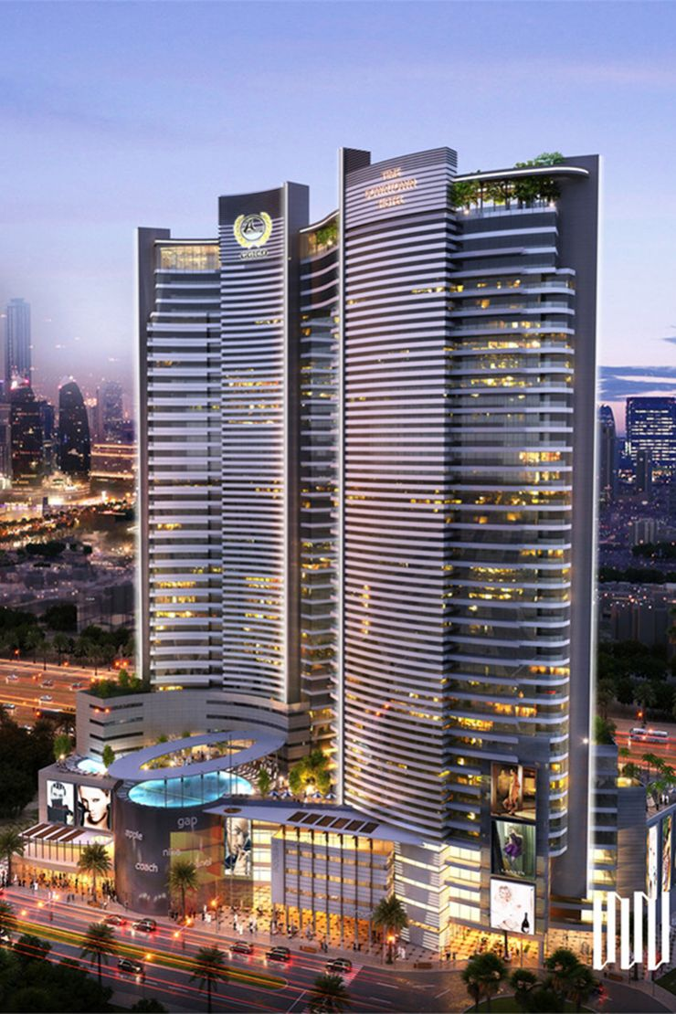 Ggico downtown hotel guide propsearch dubai for Best hotels in downtown dubai