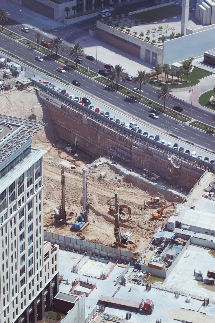 ICD Brookfield Place, Dubai, construction update Sept 2016
