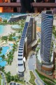 Jumeirah Beach Hotel Complex, developer's model, Dubai