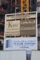 KWEC Building Silicon Oasis, construction site signboard, Dubai