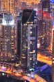 Marina Terrace, night view, Dubai