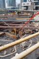 No. 9, final preparation before the foundation cement pour, Dubai