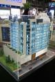 Orion Building, developer's model, Dubai