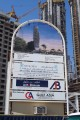 RP Heights, construction site signboard, Dubai