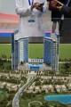 Skyline Towers, Dubai, developer's model