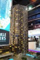 Sparkle Towers, developer's model, Dubai