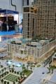 St Regis Hotel, developer's model, Dubai