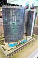 Symphony Towers, developer's model, Dubai