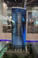 The Court Tower, developer's model, Dubai