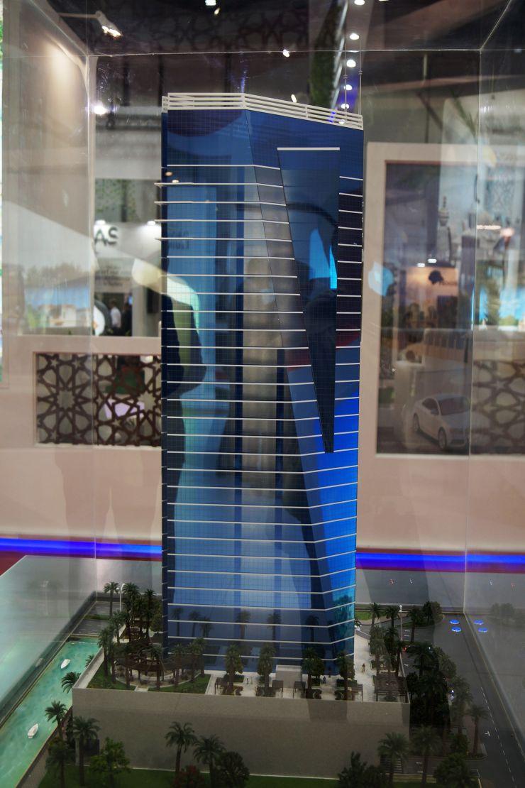The Court Tower, Dubai, developer's 3D model