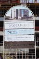 Topaz Residences 1, Dubai, construction site signboard