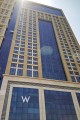 W Hotel Habtoor City, Dubai, construction update August 2016