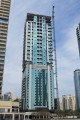 Wind Tower 1, Dubai, construction update March 2017